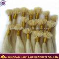 La extensión al por mayor del pelo de la extremidad U del pelo de la Virgen del proveedor alibaba del chino al por mayor alineó