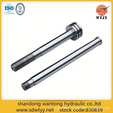 hollow piston rod for hydraulic cylinder