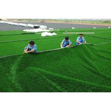 Soft 7700 Dtex Pp Durable Artificial Grass Turf, Baseball, Hockey Court Golf Artificial Turf Jh--8340