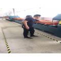 Rolling mesh belt quenching furnace