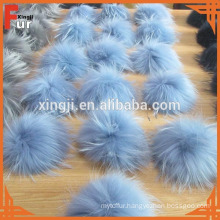 Hot sale real fur raccoon fur pompons