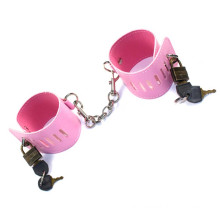 Pink Sexual Handcuff Slave Bdsm Sex Game for Couples Kinky Sex Toys Bondage Hand Cuffs