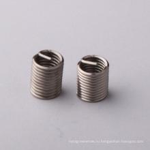 вставка резьбы провода спиральной m2