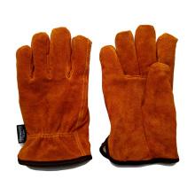 Conductores de cuero guantes de conducción con Thinsulate revestimiento completo
