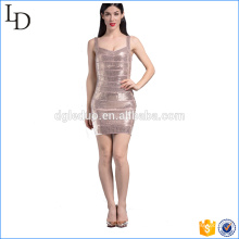 Own design of sequin dress bodycon western dress design 2017