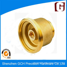 "Diameter. 875"" Precision Brass Pump Vale Part CNC Machining"