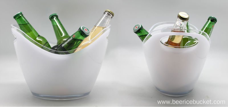 New Launced Promotion Gift Plastic Ice Bucket