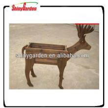 forma animal pérgola de madera para jardín