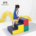Pädagogische Indoor-Kinder Soft Play Gym Schritte Mat