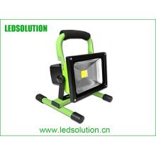 Luz de inundación recargable portátil impermeable de 6W 30w LED