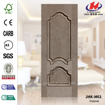 Straight Line HDF Natural Veneer Factory Door Skin