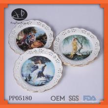 Europe modern porcelain plates
