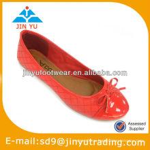 Сексуальная красная кожаная обувь