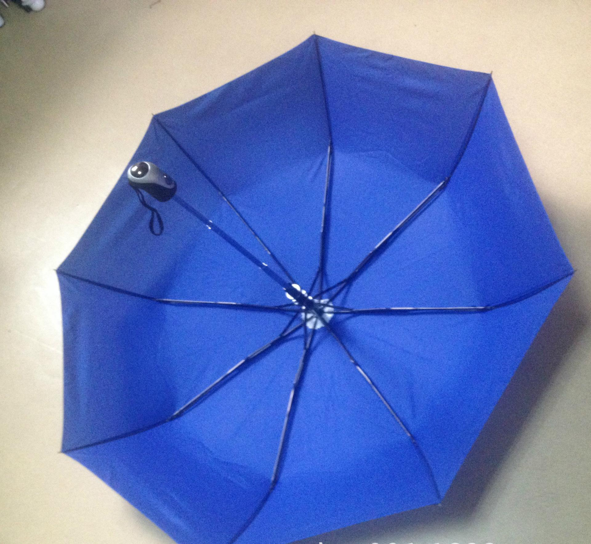 Promotional logo printed 3 folds advertising umbrella01