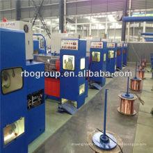 Equipamento fazendo do cabo de 17DST (0.4-1.8) Engrenagem máquina de desenho de fio intermediária de cobre de alta velocidade com ennealing
