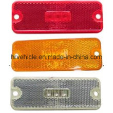 4′′ Rectangle Shape LED Side Marker Lamp with Reflector