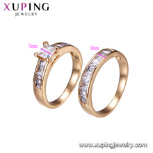 15603-Xuping Jewelry Fashion Combination Finger Ring for Unisex with 18K gold color