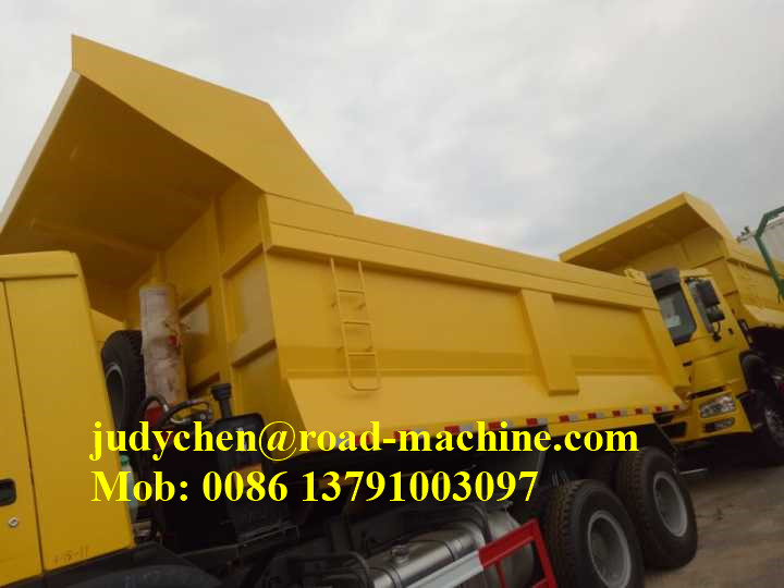 3 Axle Tipper Semi Trailer