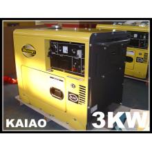 3-10kVA Silent Diesel Generator/Small Portable Diesel Generator