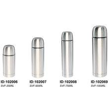 18/8 Flacon à vide en acier inoxydable Solidware Svf-500rl