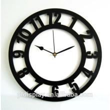 Horloge murale acrylique populaire pour la décoration à la maison