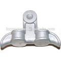 linha de pólo de grampo de suspensão de alumínio ferragem encaixe isolador montagem de extremidade linha elétrica cabo aéreo proteger encaixe