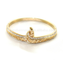 Alibaba fornecedor 2015 Moda de alta qualidade em aço inoxidável banhado a ouro pulseira para as mulheres