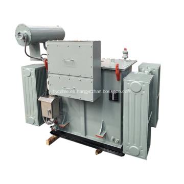 1500KVA 11 / 6.6KV transformador de distribución sumergido en aceite