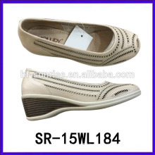 new shoe for old lady lady leather shoe ladies wedge shoes