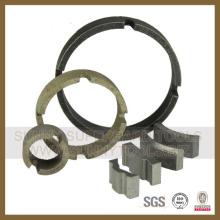 Segmento de Perfuração de Diamante de Concreto com Segmento Turbo