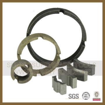 Diamond Core Drilling Bit Segments for Blank Base (SY-CDBS-12)