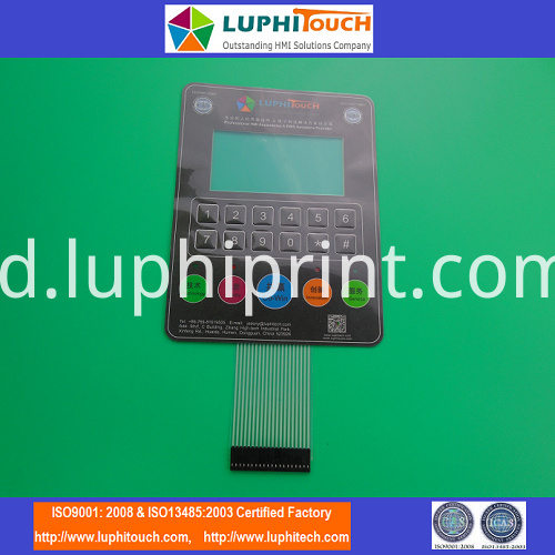 display membrane switch