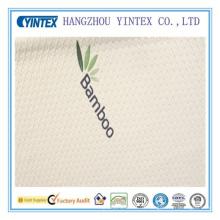 Tela 100% de la cubierta del colchón del material de bambú