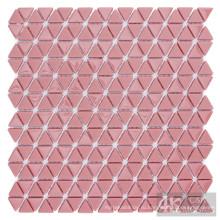 Красная стеклянная мозаичная настенная плитка