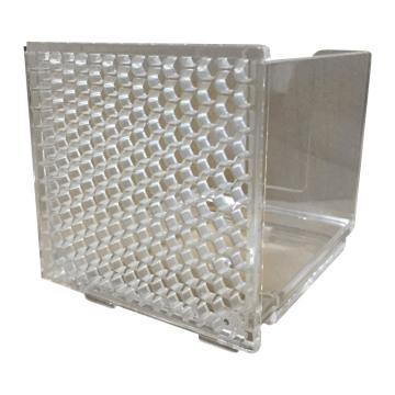 Molde plástico de alta calidad con tratamiento acolchado con espejo (LW-03679)