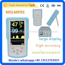 MSLMP05-i New tech & generation Handhold ETCO2&SPO2 Monitor/Mini patient monitor