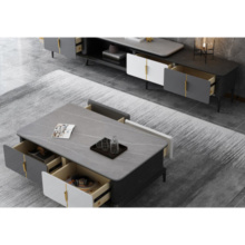 Living Room Coffee Table Tv Stand Cupboard Set