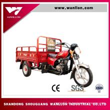 Chinesischer Fracht-LKW des LKW-150cc großer Dreirad-Roller