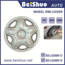 Hubcaps Wheel Skin Cover 14-Inches Silver