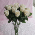 38CM Artificial Soap Rose Flower Bouquet Christmas Decor