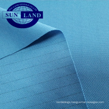 polyester pique anti-static mesh fabric for electronic factory work clothes
