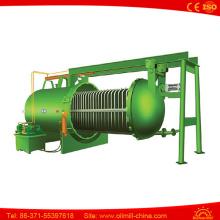 Filtro horizontal da folha da pressão da pressão Máquina do filtro de óleo