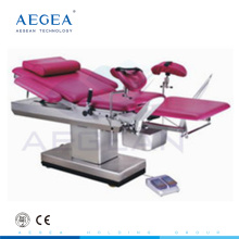 AG-C102B höhenverstellbare Krankenhaus chirurgische elektrische Gynäkologie Untersuchungstisch