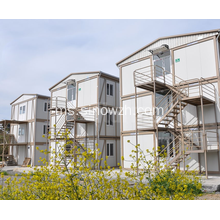 Three Storeys Flat Pack Movable Container House