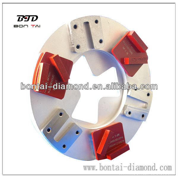 diamond grinding plate adapter