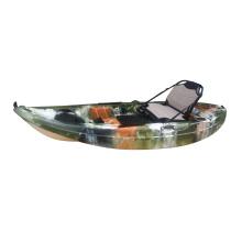 Einzelner Fischen-Kajak mit Aluminiumsitz