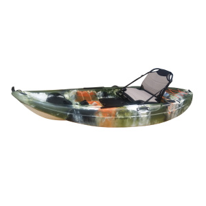 Single Fishing Kayak With Aluminum Seat