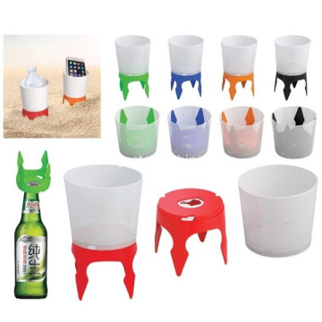 Promotional Beach Drink Holder With Opener
