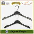 Cheap Hanger Hot venda Black Coat Hanger Plastic Hanger