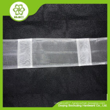 home decorative curtain head , transparent curtain tape , hook tape, curtain tape